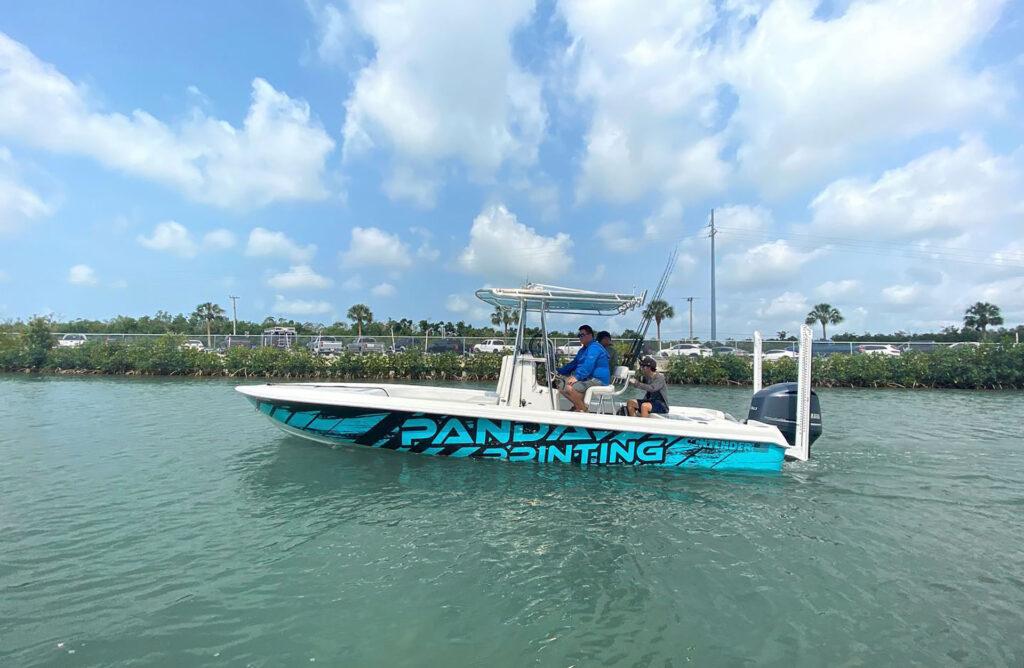 Panda Boat Wraps
