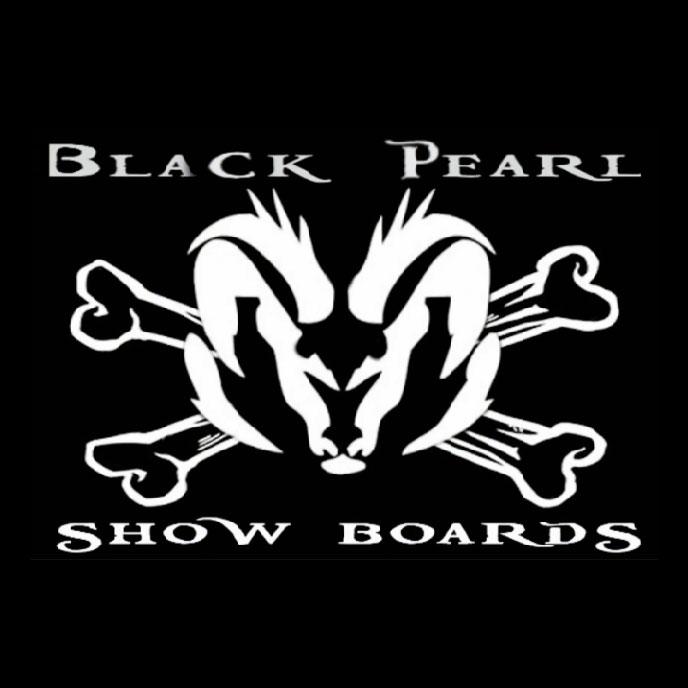 Black Pearl Show Boards